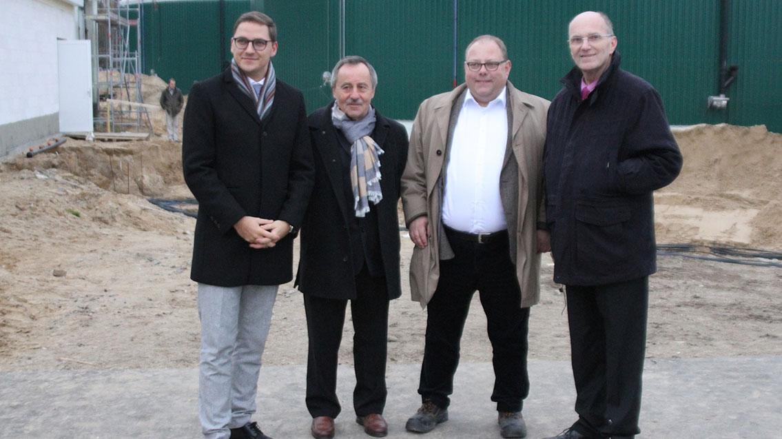ME-LE Biogas GmbH feiert zusammen mit der UDI Richtfest in Torgelow